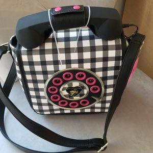 Betsey Johnson phone purse